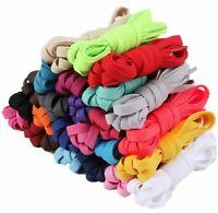 Athletic Flat Shoelaces 55 Inch (25 Colors) Sport Sneaker Shoe Laces Strings