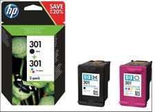 Cartucce N9J72AE N.301 Nero + N.301 Colore Hp Deskjet 1000/1510/2540 Officejet 2