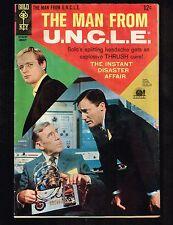 Man From U.N.C.L.E #16 ~  Gold Key / 1968 (6.0) WH