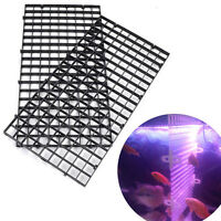 1pc Aquarium Isolate Board Grid Divider Tray Egg Crate  Fish Tank Filter.w/