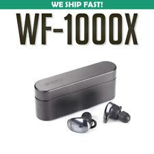 Sony WF-1000X Wireless Noise Canceling Headphones - Black WF1000X/BM1 USED