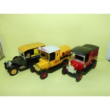 LOT 3 CAMIONNETTES FORD TALBOT PUBLICITAIRE DUNLOP SHELL ROYAL MAIL MATCHBOX 1:4