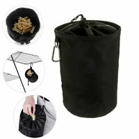 Large Heavy Peg Bag Basket w/ Hook Clothes Clip Pin Storage Laundry