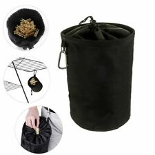 Large Heavy Peg Bag Basket w/ Hook Clothes Clip Pin Storage Laundry bara