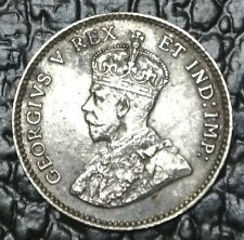 OLD CANADIAN COIN - 1911 5 CENTS SILVER - George V - Nice Details