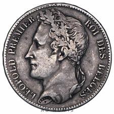 5 francs 1848 Léopold Premier Belgique - Argent