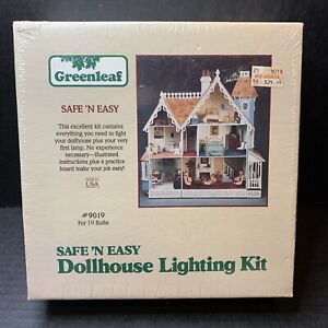 Greenleaf Safe 'N Easy Dollhouse Lighting Kit #9019 For 19 Bulbs RARE MIB NEW