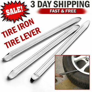 YOTINO Tire Spoons Lever Iron Tool Kit Motorcycle Bike Professional Tire Change Kit w//Bag 3 PCS+3 Rim Protector 11.6 Leverage