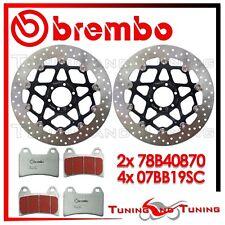 Dischi Freno Anteriore BREMBO + Pastiglie SC DUCATI MONSTER S2 R 1000 2006 870