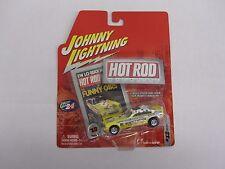 1/64th Wonder Wagon Yellow Johnny Lightning #13 Hot Rod Magazine