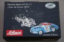 PICCOLO RENAULT ALPINE A110 N°1 TOUR DE CORSE 1973