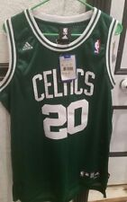 NWT Adidas Boston Celtics Ray Allen Jersey 20 Mens Large Sewn Green Jesus Pierce