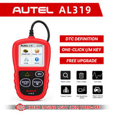 AL319 Automotive Code Reader OBD2 Scanner Car Check Engine Fault Diagnostic Tool