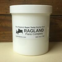 16oz/1 Pint Ragland Super Tacky Keytop Glue for Pianos, substitute/replace PVC-E