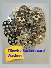 Tile Backer Board & Insulation Fixing Washer Disks for wall & floor x 100