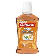 Colgate Plax Deep Clean Mouthwash for Hard to Reach Places & Fresh Breath 500ml