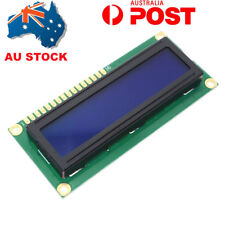 AU 1602 16x2 LCD Display Module IIC/I2C HD44780 Character White on Blue Arduino