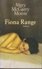 C1 USA Mary McGARRY MORRIS - FIONA RANGE Grand Format PORT INCLUS France