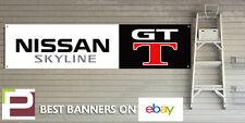 Nissan Skyline GT-T Workshop Garage Banner r32, r33, r34