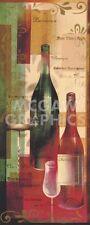 WINE ART PRINT - Let's Make A Toast by Van den Broek Winery Bar Poster 27x12