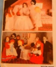 7192 McCall's Victorian Cloth Dolls & Clothes Grandma Grandpa Mom Dad Children