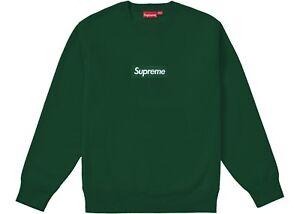 Supreme® Box Logo Crewneck FW18 - Dark Green (Medium)