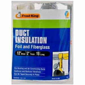 """Thermwell Products 12""""X15' Fbg Insulation Sp55 Pipe insulation"""