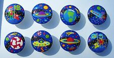 8 OUT OF THIS WORLD SPACE 2  M/ BEDDING DRESSER DRAWER KNOBS MADE AS ORDERED