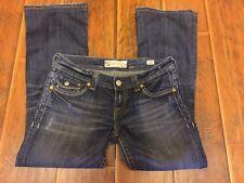 MEK Singapore Low Rise FLAP POCKET Boot Cut Stretch Jeans Sz 27