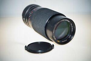 Vintage Sears Auto Zoom Camera Lens 1:4.5 No. 919540 f=80-200mm 2x Converter