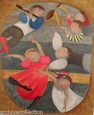 "Graciela Rodo Boulanger ""Adagio"" Original Lithograph from the ""Mouvements"" Suite"