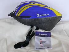 Bicycle Helmet Michelin for men and women blue Yellow Gr.L 21.3-24in Helmet new