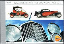 Nederland Prestigeboekje 50 Louwman Museum Auto's Cars Oldtimers