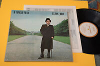 Elton John LP A Single Man 1° St Orig Canada 1978 Top EX *Gatefold + Lyrics