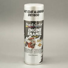 Duplicolor DE1650 Engine Enamel Paint, Cast Coat Aluminum, 12 Oz Can