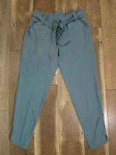 Calia by Carrie Underwood Women's Green Journey Self Belt Ankle Pants Sz XS