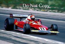 Niki Lauda Ferrari 312 T2 F1 2 temporada 1977 fotografía