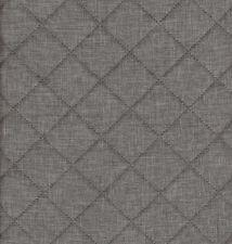 Taschenstoff Moskau Grau Steppstoffe Meterware Uni 0,5m Swafing Stoffe Taschen