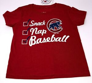 NWT MLB Genuine Merchandise Chicago Cubs Toddler Shirt Size 3T