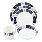 New 20pc Galleyware/Boat Dishes Melamine Bowl/Cup/Plate, Anchor/Compass Theme