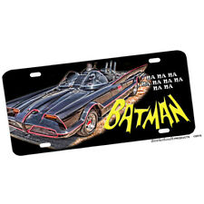1960's TV Shown Batman and Robin Batmobile Aluminum License Plate Novelty Sign