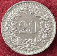 Switzerland 20 Rappen 1945 (D2004)