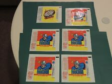 (14) Topps Football Wax Pack Wrappers 1977-1983