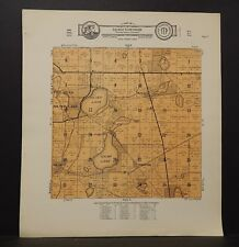 Salem Wisconsin Antique North America County Maps For Sale Ebay