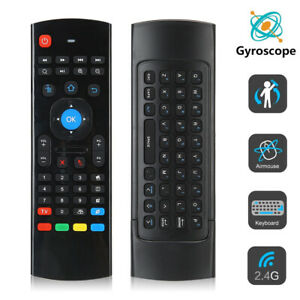 MX3 2.4G Wireless Air Fly Mouse Motion Sensing Infrared Remote Controller for TV
