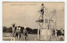 WATERFRONT, CAMP KALMINA, BLAIRSTOWN: New Jersey, USA postcard (C38017)