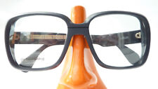 Vintage Gestell kastig extragroße Kunststoff Luxus Brille Silhouette 239 Gr L
