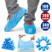 300/200/100 Disposable Shoe Covers Protector Anti Slip Plastic Overshoes Boot