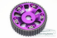 Cam Gears Pulley KIT Alloy Timing Gear FOR TOYOTA Supra 1JZ 2JZ purple 1PCS
