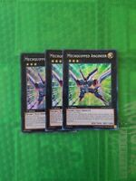 Yugioh  3x Mechquipped Angineer - NUMH-EN035 - Super Rare - 1st Edition